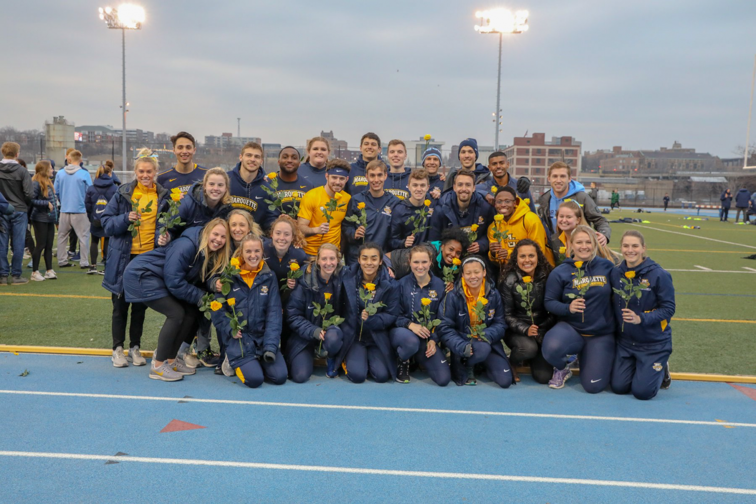 Photo courtesy of Marquette Athletics.