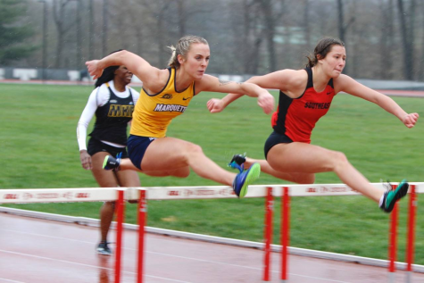 Track and field athletes wrap up busy weekend