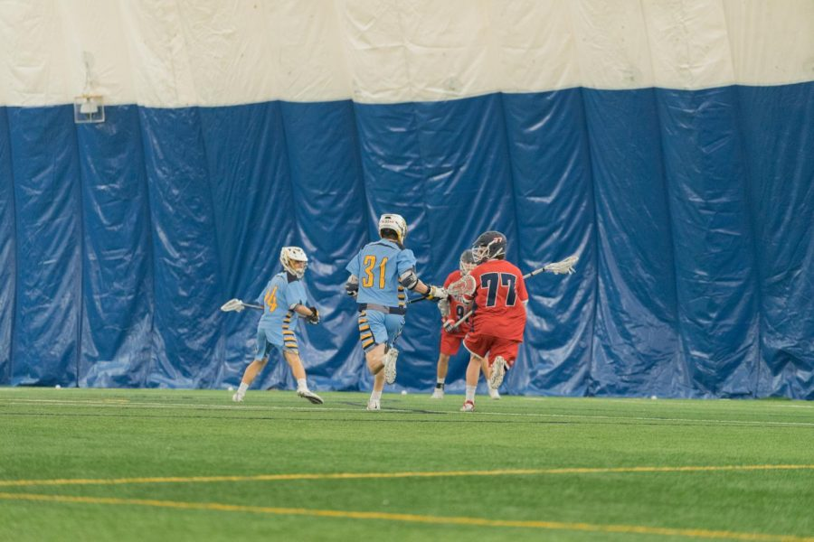Anderson sees uptick in production for men's lacrosse