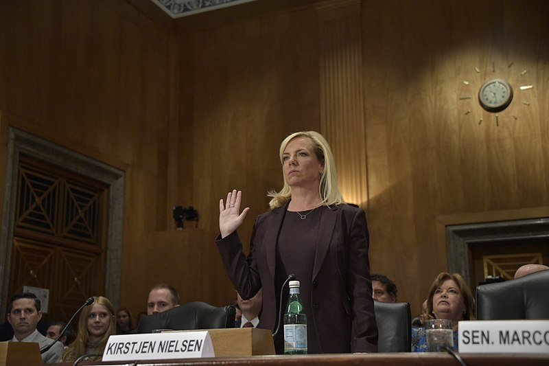 Nielsen feared the backlash she would receive for her contentious border policies, like family separation.