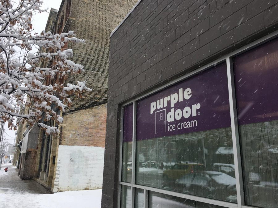 Purple+Door+will+host+a+%22Full+Moon+Party%22+this+Friday+where+they+will+give+away+free+mini+cones+of+their+newest+flavor%2C+Purple+Moon.+