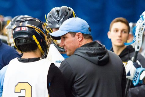 Men's lacrosse prepares for major road match