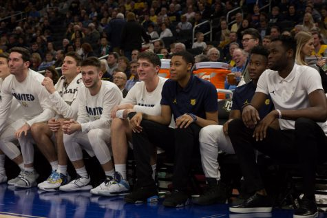 PHOTO GALLERY: B.o.B performance, player intros highlight Marquette Madness 2018