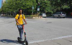 Motorized scooters banned on university property