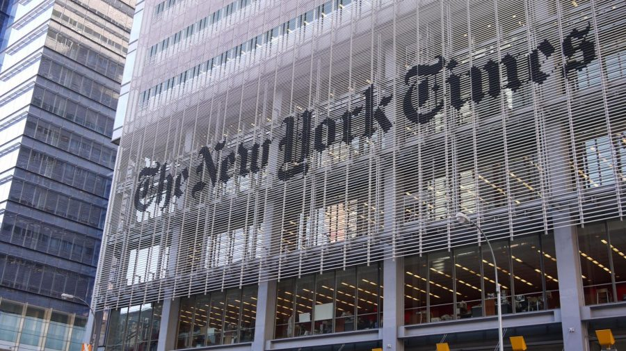 News organizations like The New York Times are facing possible investigations from the Trump administration. Photo via flickr.
