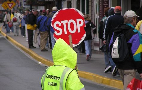 Crossing guards will be implemented this fall.  Photo courtesy of Wikimedia