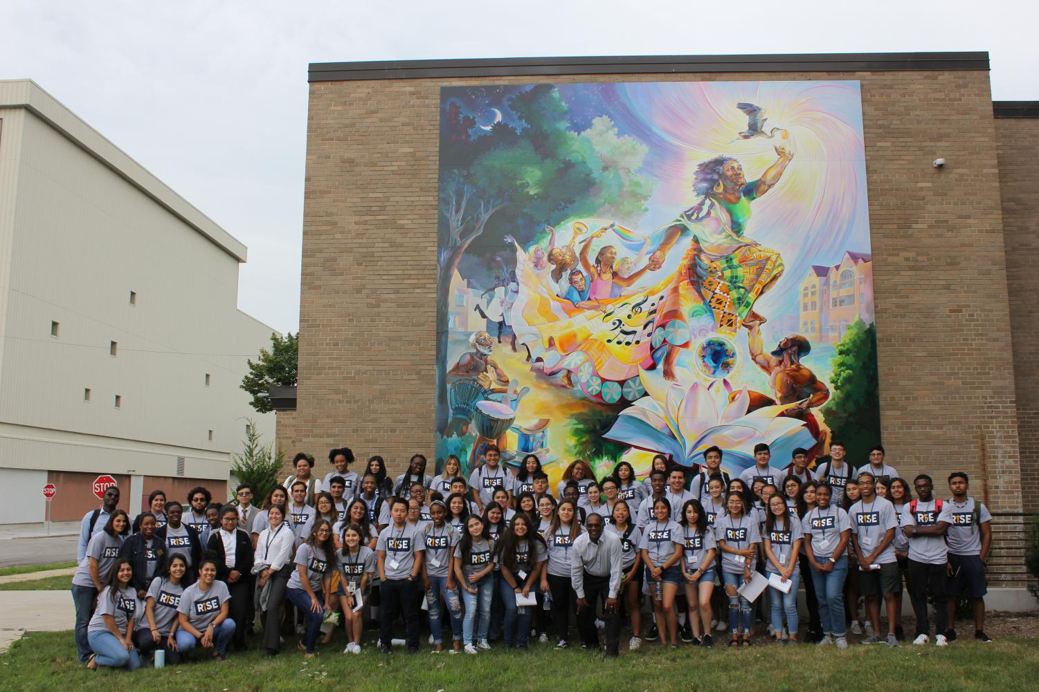 RISE ran from Aug. 19-21 and served as an orientation for students from diverse backgrounds.   Photo courtesy of Joya Crear