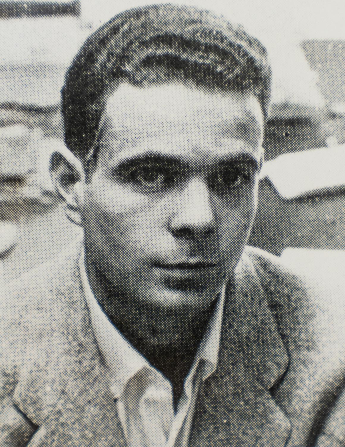 George Lardner was editor of Marquette Tribune in 1956.   Photo courtesy of Diedrich College of Communication