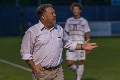 Prpa assists on all four goals as men's soccer hangs on to beat Creighton