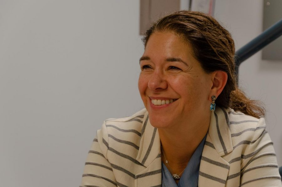 Andrea Schneider is the co-director of the Institute of Women's Leadership.