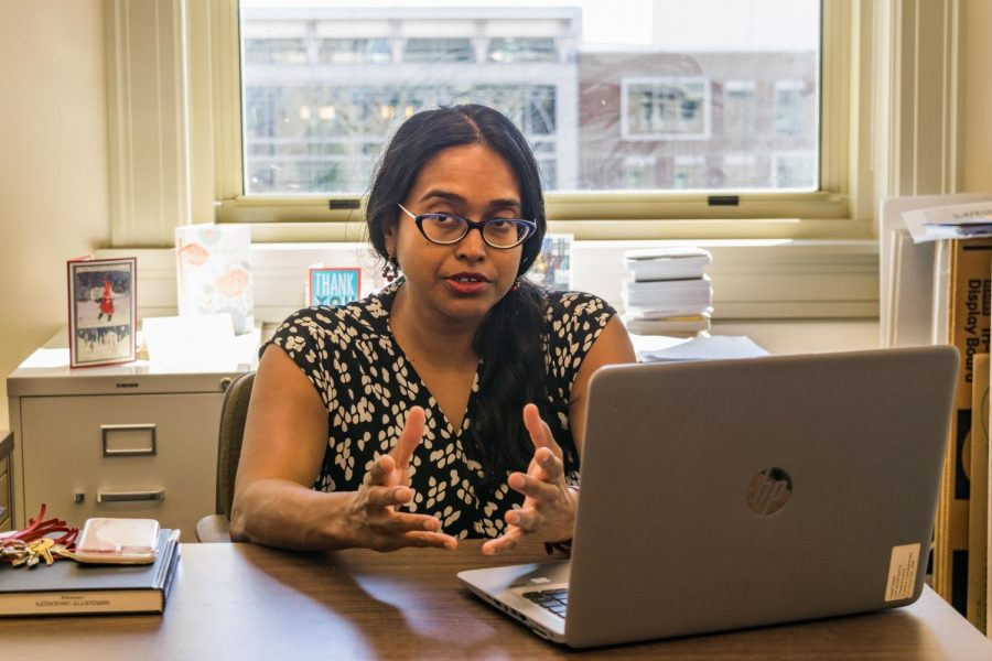 Sumana Chattopadhyay, chair of the Academic Senate, said there was a lot of discussion on the Senate floor.