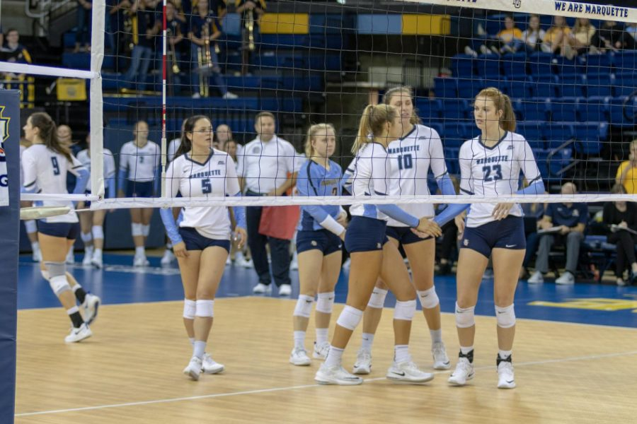 Marquette volleyball is now 6-2 after losing in five sets to No. 14 Illinois.