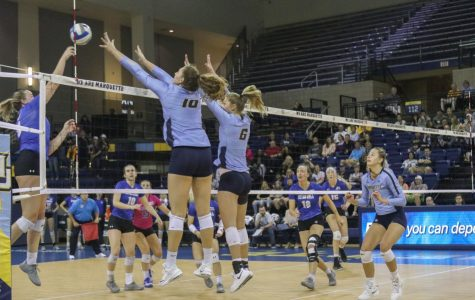 Volleyball defeats Seton Hall for sixth consecutive win