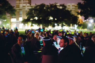 Glow Bingo was in the event lineup when Homecoming returned to campus in 2016. Marquette Wire stock photo.