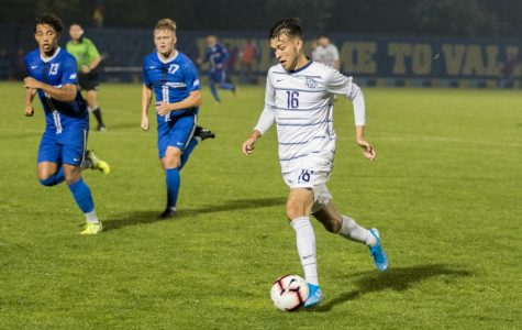 Men's soccer picks up first BIG EAST win at Xavier