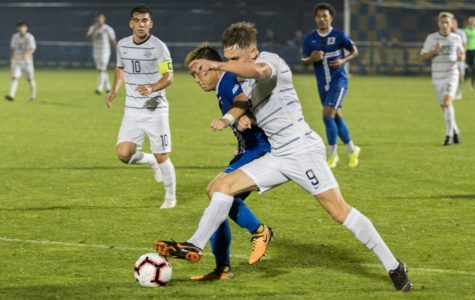 Men's soccer takes down in-state rival Wisconsin