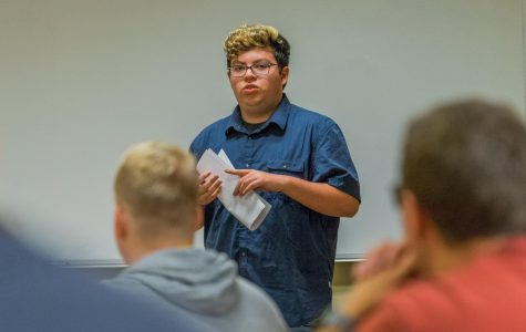 College of Education students meet to discuss future of college
