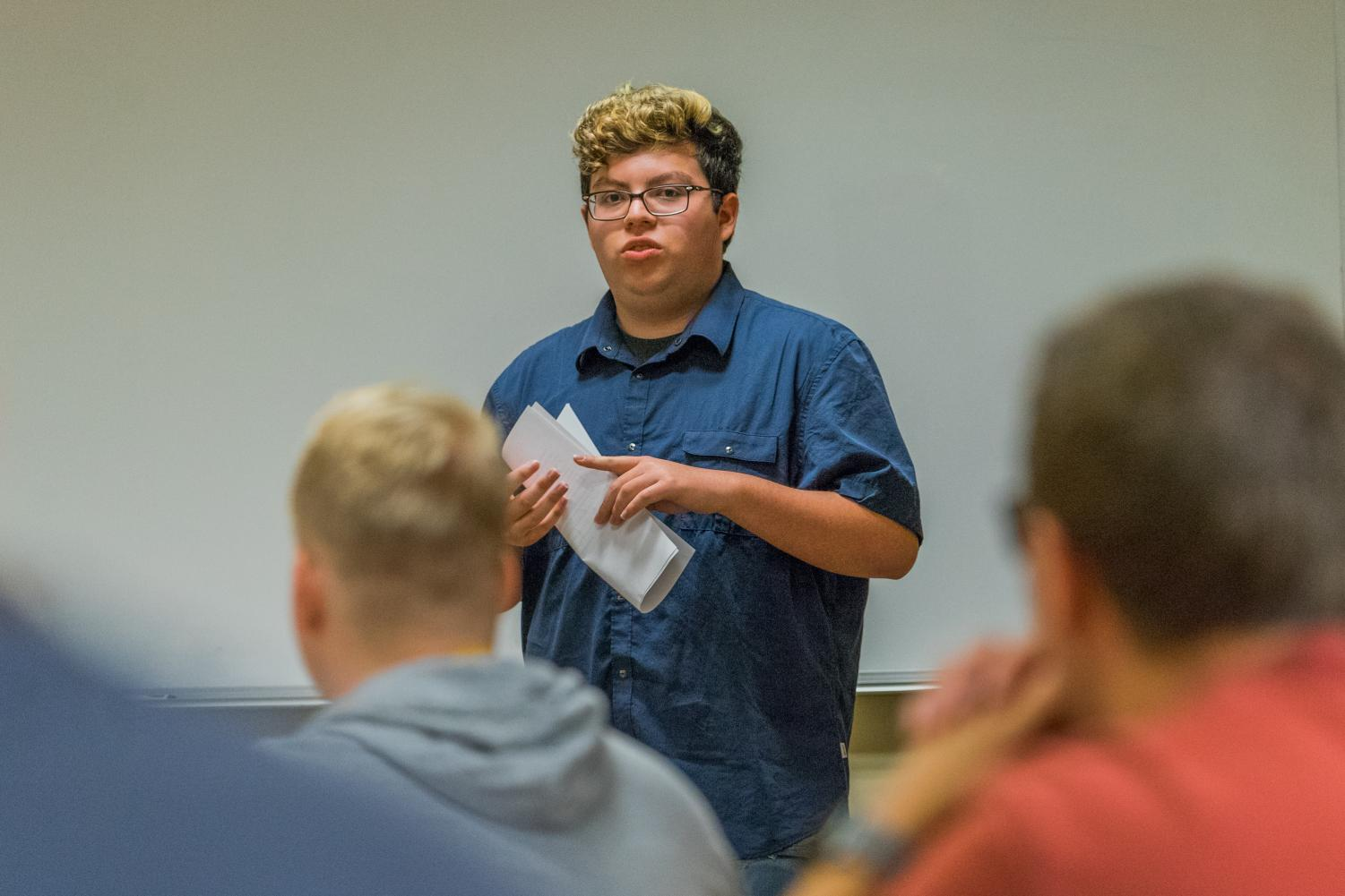 Jonathan Jimenez said he feels turning the College of Education into a school negatively impacts Marquette's reputation.