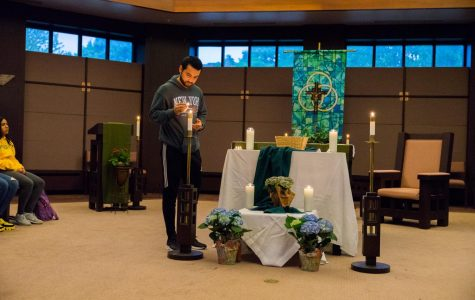 Campus Ministry holds prayer service for Hurricane Dorian