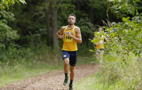 Brad Eagan embraces final run with cross country
