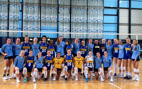 Volleyball bonds on foreign tour in Europe