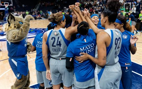 The Minnesota Lynx play the Chicago Sky in Minneapolis, MN on Aug. 28. Photo via Flickr.