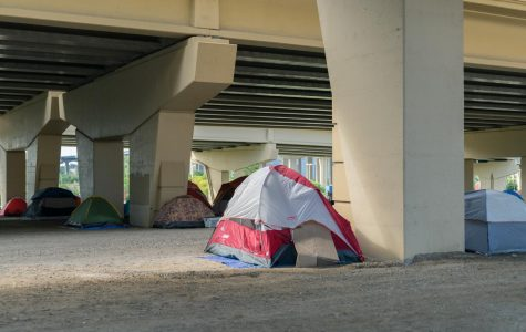 The encampment received the eviction notice Oct. 4.