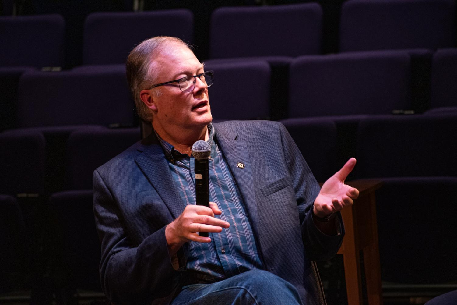 The panel featured James Marten, department chair and professor of history at Marquette.