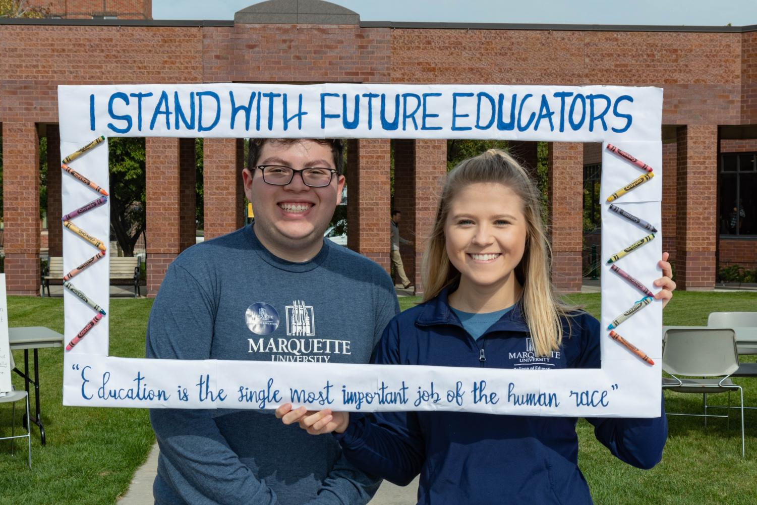 College of Education held a rally Oct. 10.
