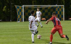 Men's soccer falls 2-0 at Providence