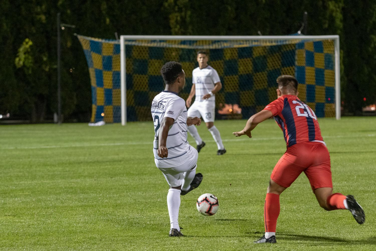 Marquette men's soccer has suffered four shutouts in 2019.