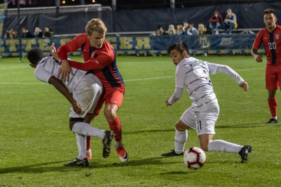 Marquette men's soccer lost its second consecutive home match Friday night.