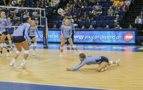 Vanden Berg jumps right into Marquette volleyball