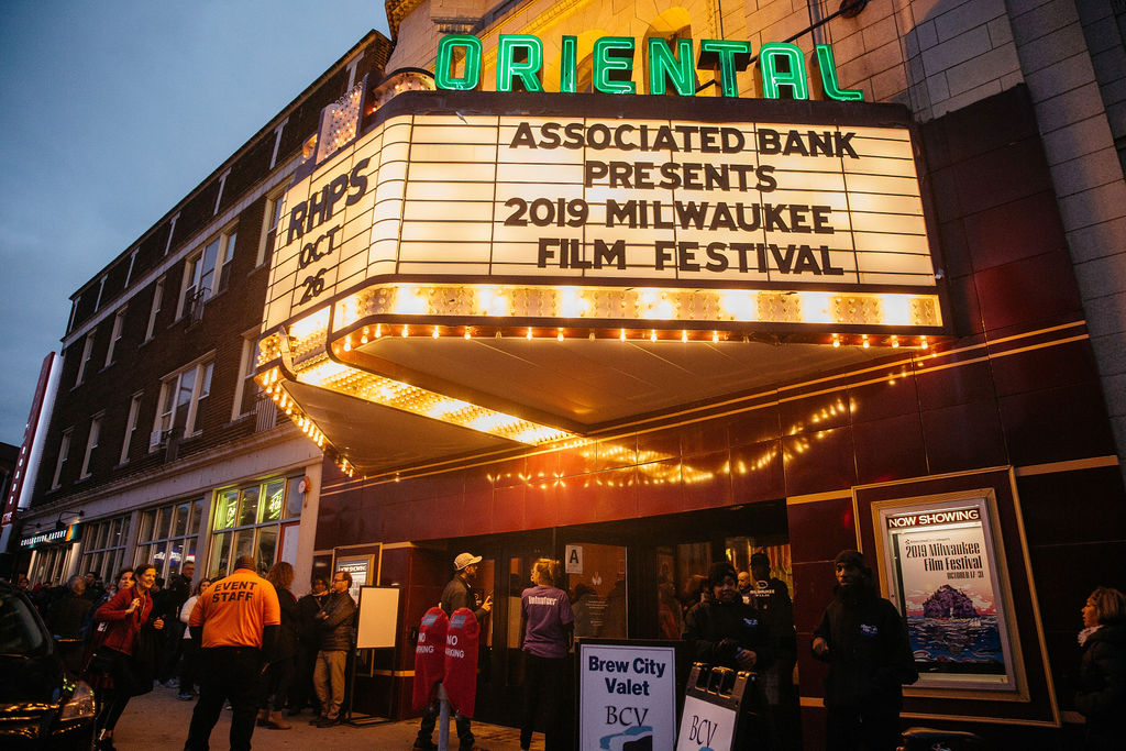 The Oriental Theatre is one of nine theaters screening the featured movies. Photo courtesy of Milwaukee Film.