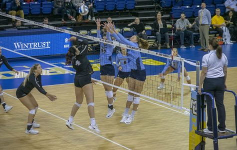 Volleyball sweeps Providence in BIG EAST contest