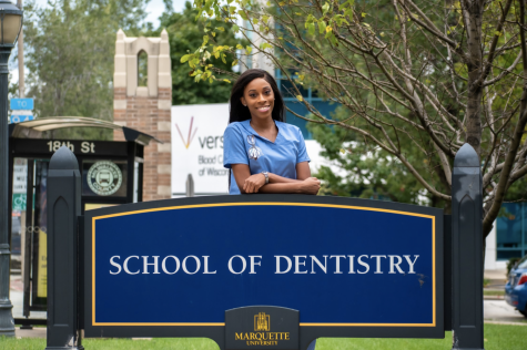 Chante Parker became the Dental School