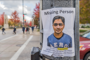 MUPD, classmates search for missing engineering student