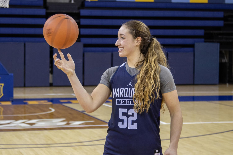 Sophomore forward Chloe Marotta.