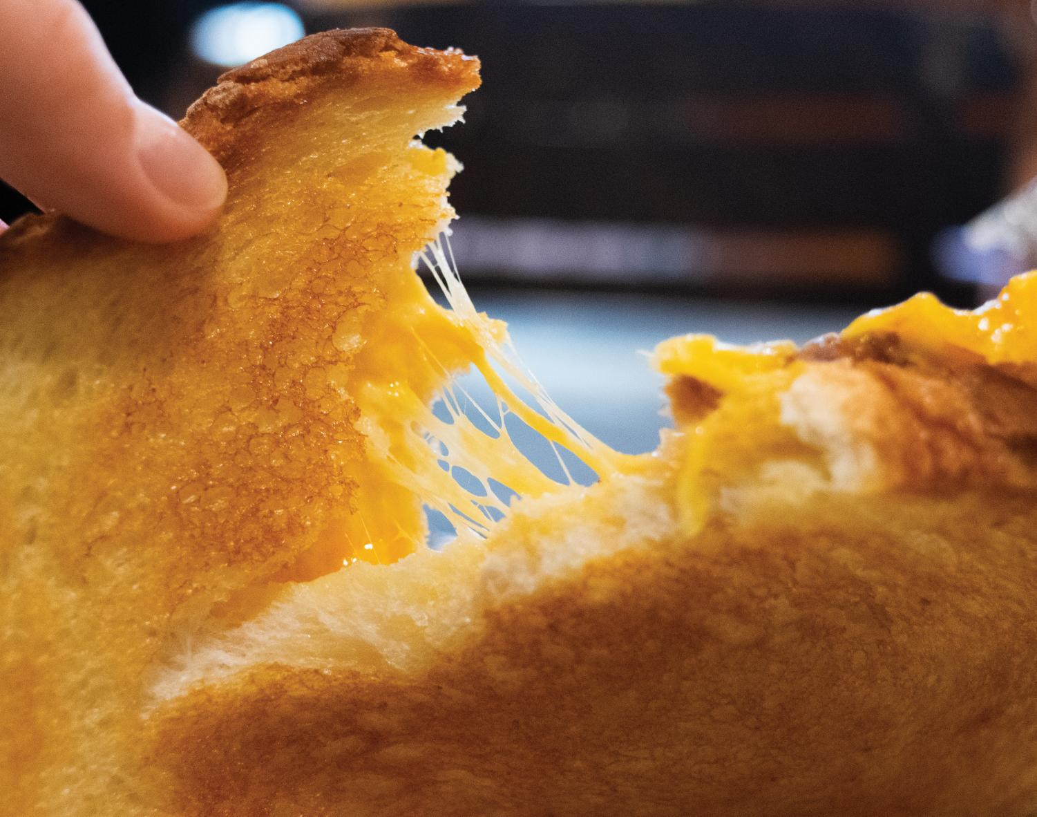 For some, grilled cheese served as a childhood staple that could be varied from meal to meal.