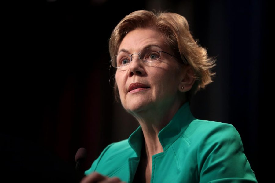 U.S.+Senator+Elizabeth+Warren+speaks+at+2019+Iowa+Federation+of+Labor+Convention+in+Altoona%2C+Iowa.+Photo+via+Flickr.+