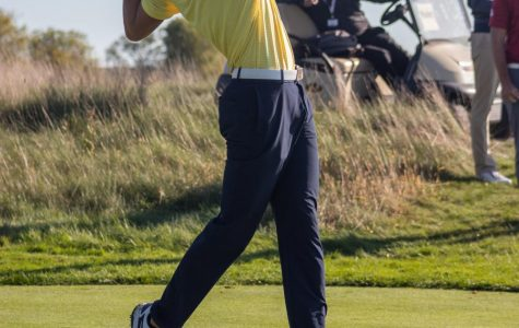 Hunter Eichhorn won the Marquette Intercollegiate at Erin Hills Oct. 8 with an even par 72.