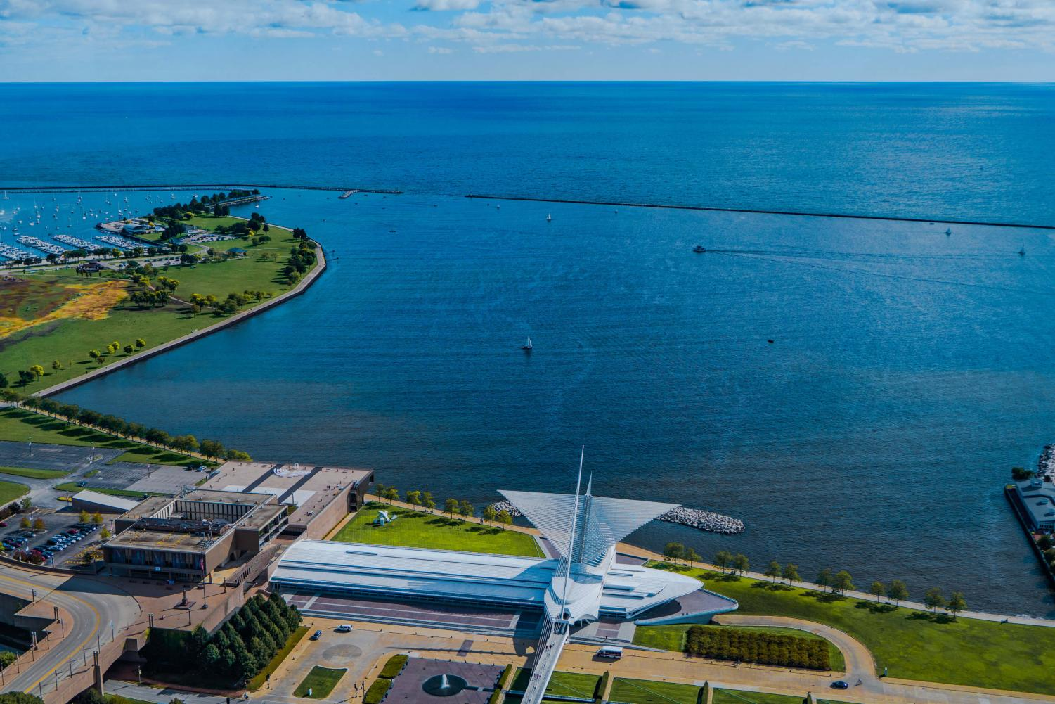 Lake Michigan is the source of our water and where we put our waste.