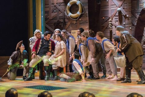 "Marquette students performed ""Peter and the Starcatcher"" in September. Theatre professors are now adjusting to teach acting in an online format. Marquette Wire Stock Photo."