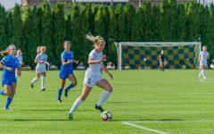 Alyssa Bombacino's big day leads Marquette in 5-0 win
