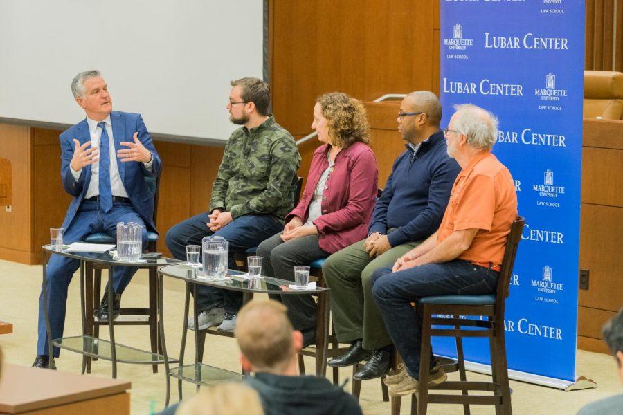 Panelists discussed venture capital in Wisconsin.