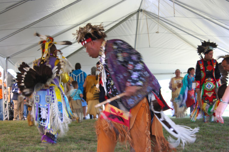 A Wampanoag festival held in Barnstable, Massachusetts Sept. 11, 2010. Photo via Flickr.
