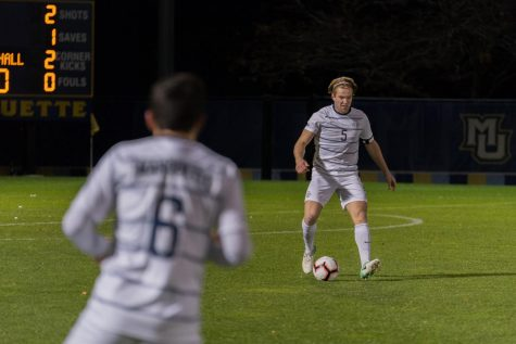 Prpa nets ninth, but men's soccer falls to Providence
