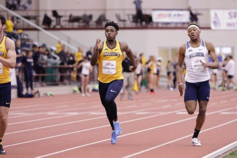 Men's track and field win first conference title since 2016, women finish third