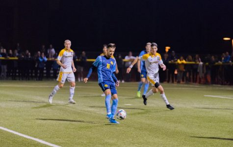 Men's soccer ends postseason play after losing to Providence 3-0