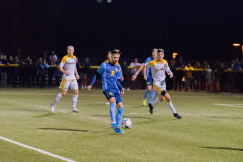 Men's soccer loses 3-0 to No. 7 Georgetown